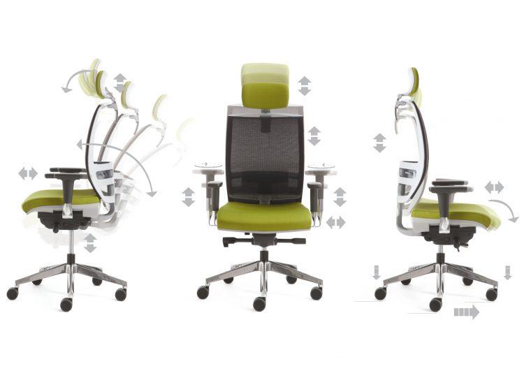 Kastel Sedie Ufficio : Konica mesh u kastel sedute per ufficio comunitá e casa