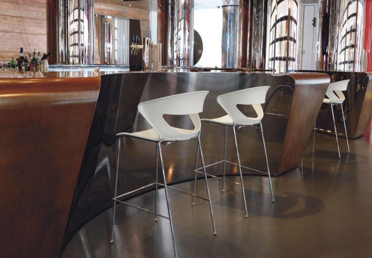 Kicca stool kastel seating for offices communities for Kastel sedie