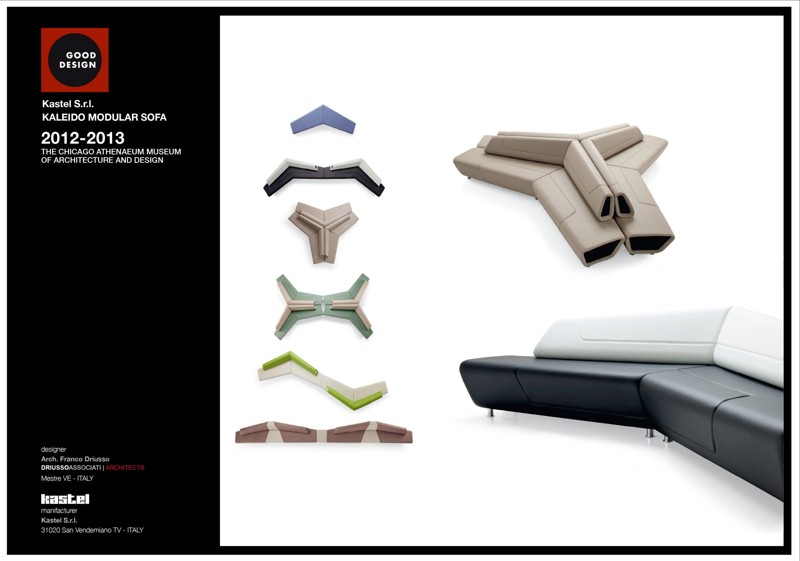 "A Kaleido di Kastel il ""Good Design Award 2013"""