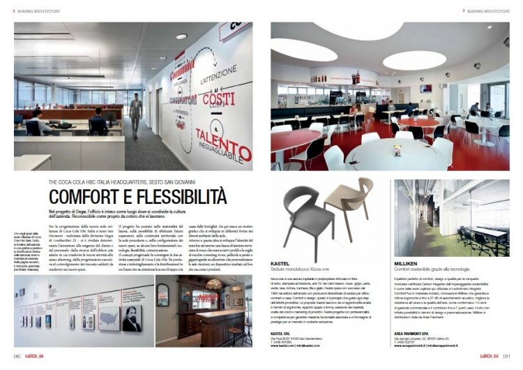 The Coca-Cola HBC Italia Comfort and Flexibility