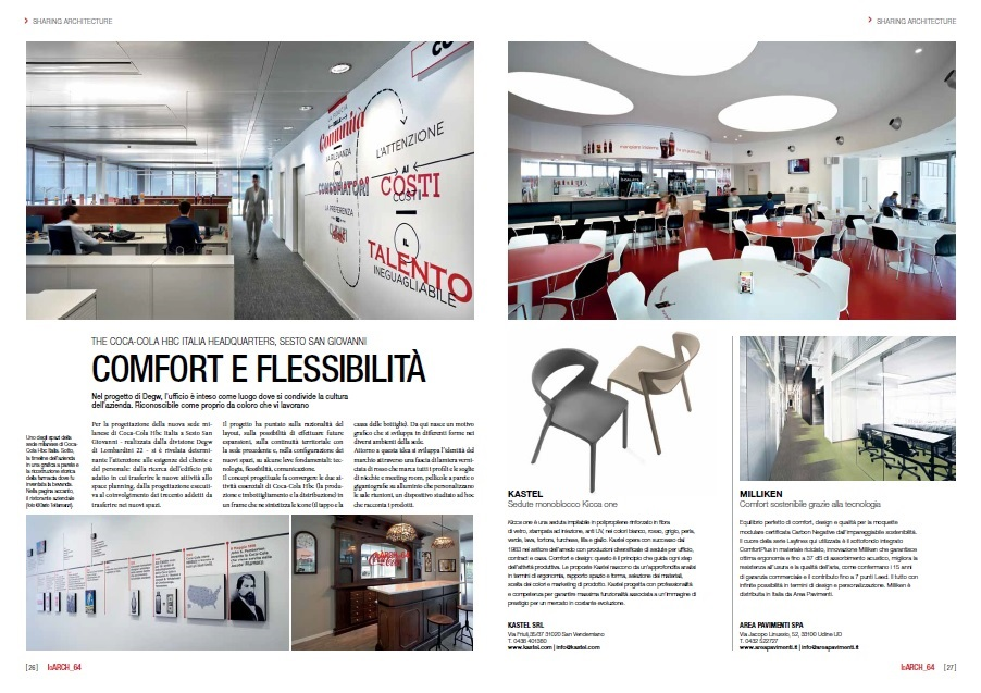 Confort et flexibilité chez The Coca-Cola HBC Italia