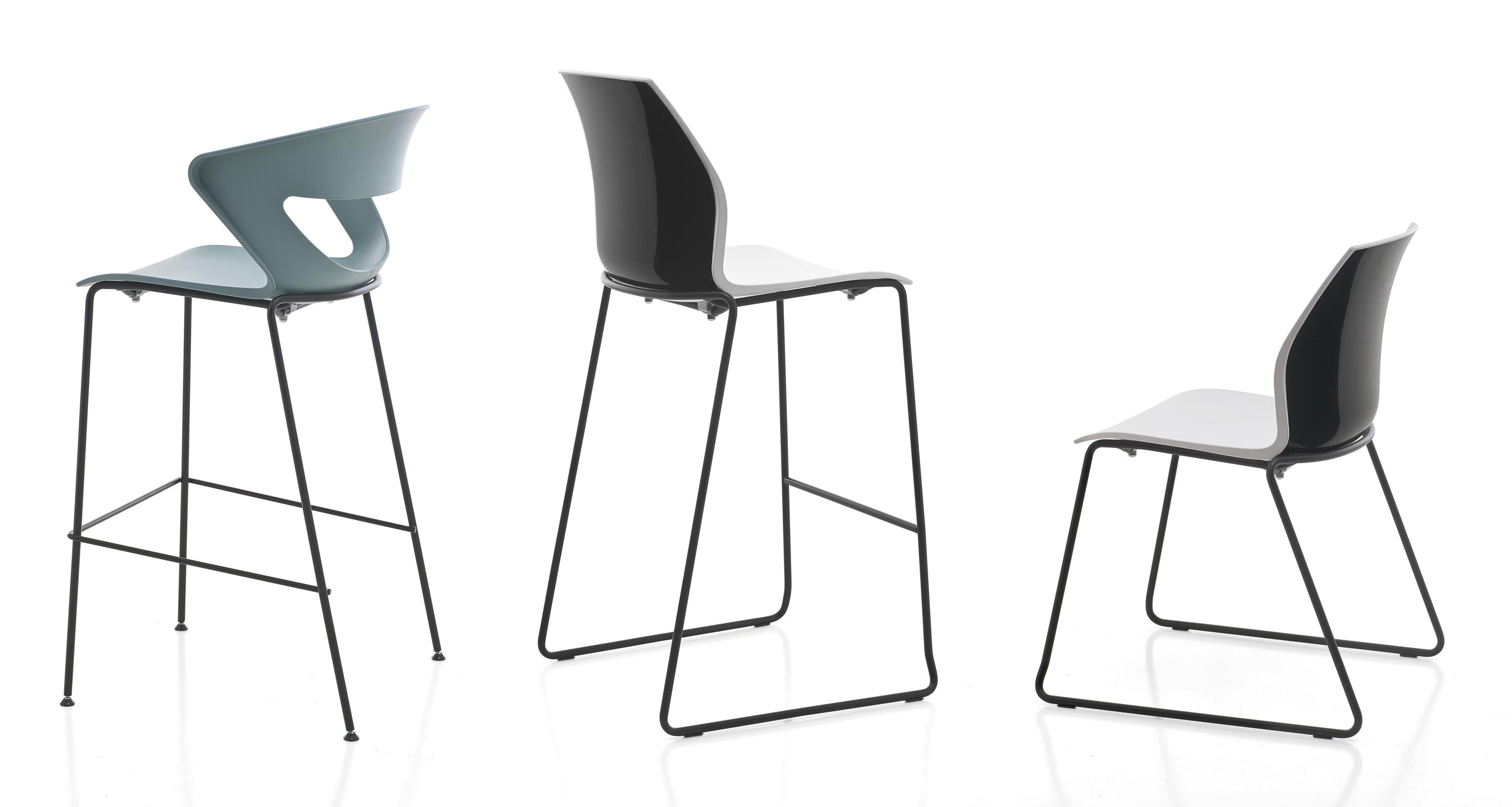 Kastel sedute per ufficio comunit e casa sedie for Sedie design 3d