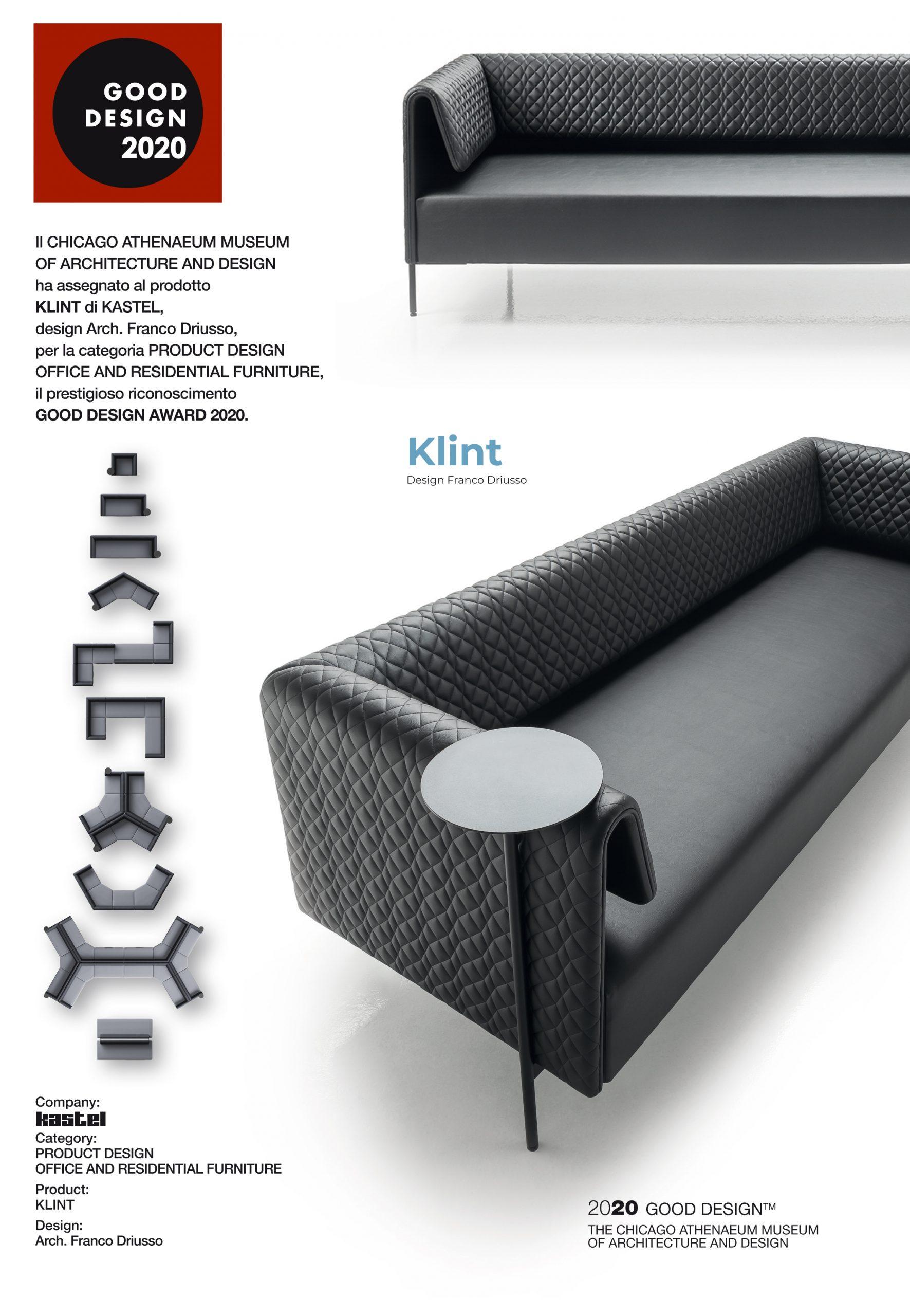 Klint: Good Design Award 2020